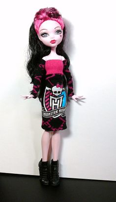 Monster High Doll Clothes Doll Dress Monster