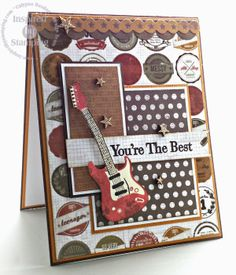 """""""Just Us Girls"""" Challenge Birthday Cards For Boys, Masculine Birthday Cards, Handmade Birthday Cards, Masculine Cards, Greeting Cards Handmade, Boy Cards, Kids Cards, Card Making Inspiration, Making Ideas"""