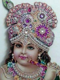 Happy Janmashtami Krishna Hindu, Jai Shree Krishna, Hindu Deities, Radhe Krishna, Lord Krishna, Lord Shiva, Indian Gods, Indian Art, Bal Gopal
