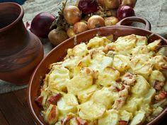 Gluten Free Tartiflette – Better Than Au Gratin Potatoes Potatoes Au Gratin, Cheesy Potatoes, Potato Dishes, Potato Recipes, Pistolettes Recipe, Recipes Using Flour, Fried Bread Recipe, Tartiflette Recipe, Avocado Salad Recipes