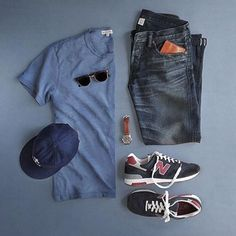 Summer basics for men