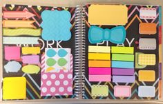 Dashboard Love! {Quote stickers from Hobby Lobby}