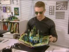 Creating Pop-Up Books with Robert Sabuda Videos | Tv How to's and ideas | Martha Stewart