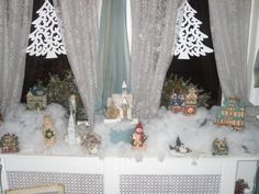 Victorian Christmas Village Houses