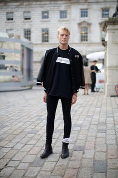 Street Style at London Fashion Week SS15. Photographs by Marcus Dawes for LFW The Daily, (www.marcusdawes.com) #streetstylebijoux, #streetsyle, #bijoux