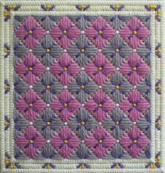 Hydrangea Needlepoint Design - ©Cheryl C. Fall, Licensed to About.com