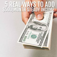 As a single mom, its my job to provide for my family, but Im not about to let a babysitter raise my kids. Ive been making money from home for 17 years now and Id love to show you my top 5 favorite ways to add $500/month steady income! Check out all the best tips and tricks for eBay sellers on ResellingRevealed.com  The best eBay blog on the net for BOLO lists, eBay How-To Guides, and more!