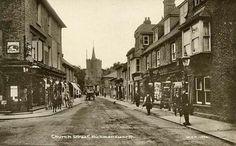 Church Street Rickmansworth 1874
