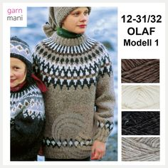 no - Spesialist på islandsk ull Olaf, Winter Hats, Men Sweater, Crochet Hats, Knitting, Sweaters, Fashion, Threading, Scale Model