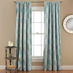 Sophie Curtain Panels Room Darkening - Set of 2 - Blue : Target