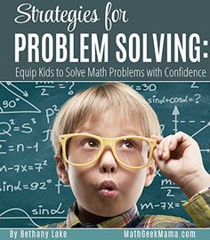 Strategies for Problem Solving: Equip Kids to Solve Math Problems With Confidence by Bethany Lake http://smile.amazon.com/dp/B01DIK0T4K/ref=cm_sw_r_pi_dp_GOtcxb01JZ5CY-This short book provides a simple framework for solving math problems. Easy to read, the problem solving strategies presented can be applied to countless math word problems, equipping students to solve with confidence.