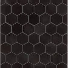Image result for black and white hexagonal floor tiles