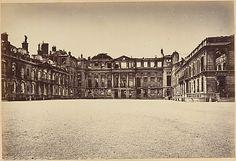 Alphonse J. Liébert | Les Ruines de Paris et de ses Environs 1870-1871: Cent Photographies: Second Volume. Par A. Liébert, text par Alfred d'Aunay. | The Metropolitan Museum of Art