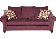 picture of Sierra Dunes Plum Sofa  from Sofas Furniture
