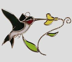 Stained Glass Art by Glass Illusions - Bird Hangings Stained Glass Studio, Stained Glass Projects, Stained Glass Patterns, Stained Glass Cardinal, Stained Glass Birds, Humming Bird Feeders, Glass Animals, Glass Design, Mosaic Art