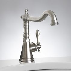 $189.95   Kinston Single-Hole Bathroom Faucet - Single Hole Faucets - Bathroom Sink Faucets - Bathroom