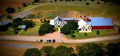 We practice a hands-on, people-centered philosophy and Becker Vineyards is proud to be one of the largest contractors of Texas Fruit Texas Wineries, Texas Travel, Close To Home, Texas Hill Country, Aerial View, Brewery, Vineyard, Golf Courses, Hillbilly