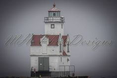 The Kewaunee Pierhead lighthouse is a lighthouse located near Kewaunee in Kewaunee County, Wisconsin. © MH PhotoDesigns 2013