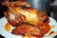 Pollo ruspante ripieno