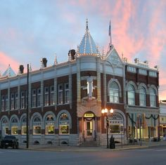 Farmers Drovers Bank Council Grove Kansas Built In 1882 It S One