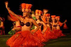 I love the tahitian dancing....