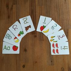 Alphabet and Number Flashcards by RocketPopCreative on Etsy