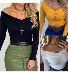 Fashion 2019 New Moda Style - fashion Outing Outfit, Cone Bra, Jean Paul Gaultier, Catwalk, High Waisted Skirt, Casual Outfits, Mini Skirts, Blue And White, Glamour