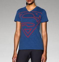 0ba823ea0d Women s UA Supergirl Short Sleeve V-Neck