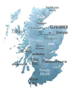 Scotch map. hahaha.