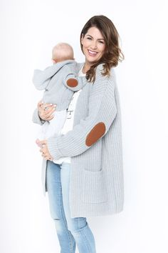 Cardi Time Elbow Patch Knit Sweater: http://privilegeclothing.ca/cardi-time-elbow-patch-knit-sweater/