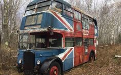 To me, one of the more entertaining aspects of finding vehicles for sale not formally sold in the U. is the story that accompanies such cars and trucks. Take this double-decker 1942 Leyland Titan bus for example: how did. Abandoned Cars, Abandoned Places, Abandoned Vehicles, London Bus, Old London, Rt Bus, Routemaster, Double Decker Bus, Bus Coach