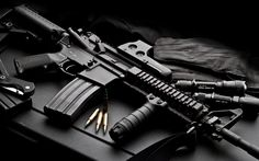 Gun Military Background Wallpaper