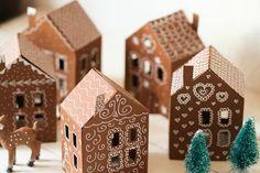 Diy: Pepparkakeland Den här julen känns det verkligen som de här små miniatyrlanden har flyttat in i våra hjärtan….Det är små tomtedörrar, söta bambis,...