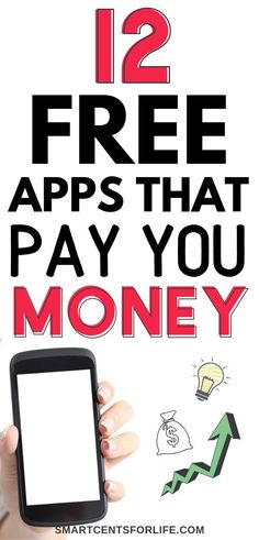 Looking for the best money making apps? Check out how to make money fast with these free apps! Make money online and in your free time. Make money from home with these side hustle ideas and legit ways to earn money. Perfect for iPhone or Android phones to make extra cash!  #makemoneyathome #makemoneyfromhome #extraincome #makemoneyonline #onlinejobs #sidejobs #moneymakingapps #smartphoneapps #makemoney #sidehustle