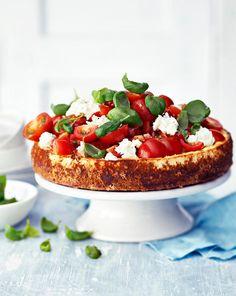 Suolainen juustokakku | Meillä kotona I Love Food, Good Food, Yummy Food, My Favorite Food, Favorite Recipes, Finnish Recipes, Savoury Baking, Savory Snacks, Sweet And Salty