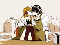Community for Persona 5 and Persona 5 Royal Do not post spoilers outside of the megathread Persona 5 is a role-playing game in which. Sakura Manga, Manga Anime, Anime Couples Manga, Cute Anime Couples, Anime Art, Persona 5 Memes, Persona 5 Joker, Persona 4, Manga Love