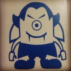 #minions                                               Dracula minion