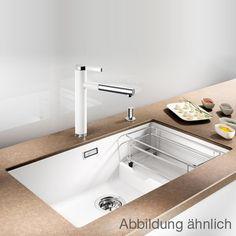 Blanco Subline 700-U Level undermount sink W: 73 D: 46 cm Bowl SILGRANIT®PuraDur® II tartufo
