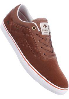 Emerica The-Herman-G6-Vulc, Shoe-Men, brown-orange #ShoeMen #MenClothing #titus #titusskateshop
