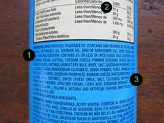 Good tips on reading food labels