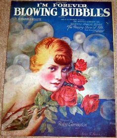 Im Forever Blowing Bubbles Vintage Sheet Music - $10.50 : Vintage Collectibles Sewing Patterns Postcards Aprons Ephemera