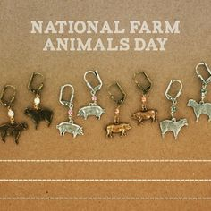 It's National Farm Animals Day! #sheep #pigs #swarovski #sadiegreens #farmanimals #settlersofcatan