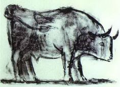 Pablo Picasso. The Bull. State I, 1945