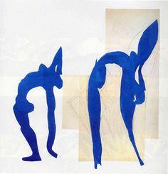 'Blue Nudes' by Henri Matisse (1869-1954, France)