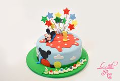 tarta casa de Mickey