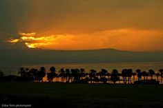 Laila Tov Tiberias ! Good night Israel ! Sunset over the Sea of Galilee! #sunset #Israel @ZoharFarro