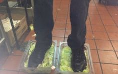 A Burger King employee was fired after 4Chan exposed a photo he posted of his feet in two lettuce containers from the restaurant's kitchen.