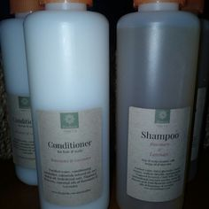 100% natural hemp oil shampoo and Conditioner 250ml  $15 each
