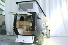 ::: Jeep® ActionCamper© - expedition ready slide-on camper - JK Wrangler Unlimited / by Thaler Design ::: WANT.