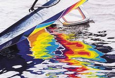 Water/Color (colored pencil, 26×38) by Gary Greene  #coloredpencil #drawing